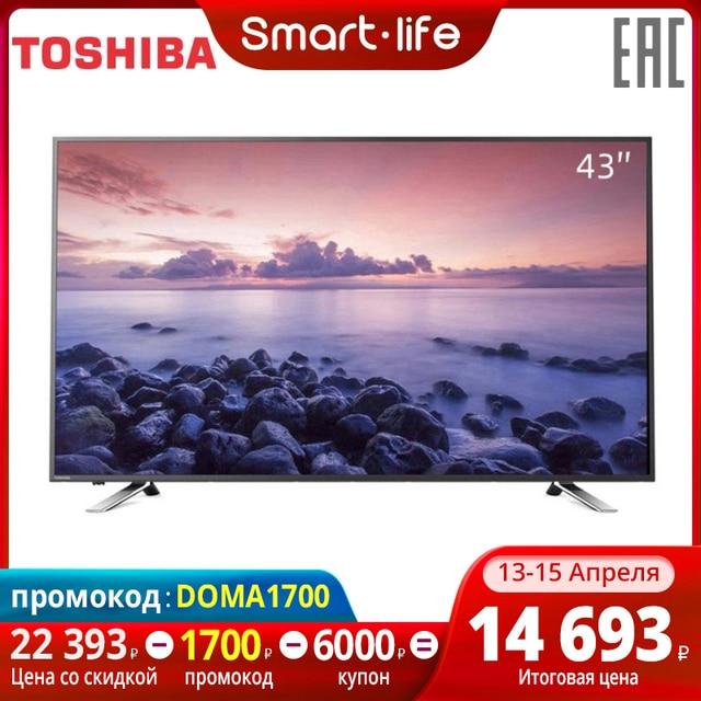 $ US $289.16 4049inchtv TV Toshiba TV 43 inch 43l5865 FullHD smart TV
