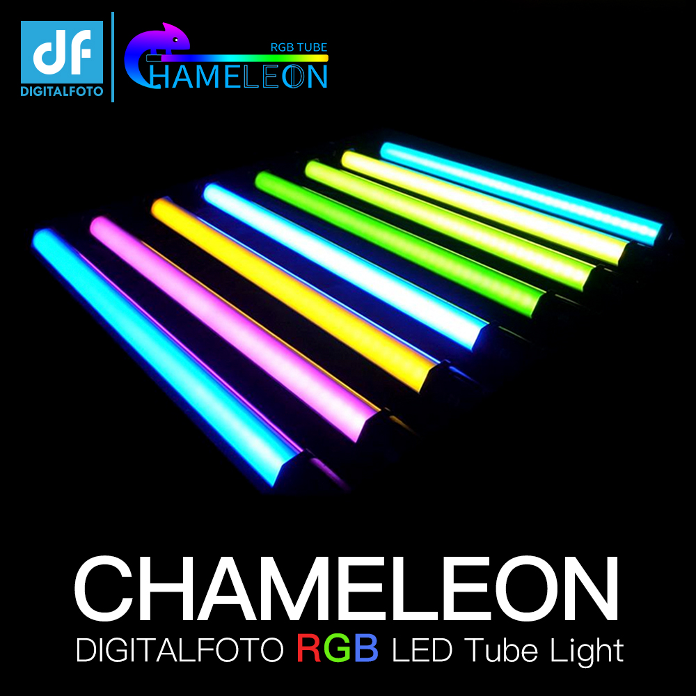 DF DIGITALFOTO chameleon RGB LED leuchtstoffröhre Bunte Spezielle effekte film fotografie Halten lampe für Video VS NANLITE NANGUANG