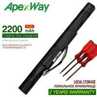 Apexway 2200 mAh 14.8V Bateria Do Portátil para Acer Aspire E15 E5 475G E5 575 523G 553G 573G 575G 774G AS16A5K AS16A7K AS16A8K|Baterias p/ laptop|   -