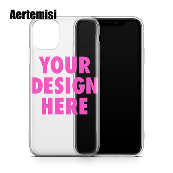 Aertemisi 100 Pieces Create Your Own Custom Clear TPU Phone Case Cover for iPhone 5 5s SE2 6 6s 7 8 Plus X Xs XR Max 11 Pro Max