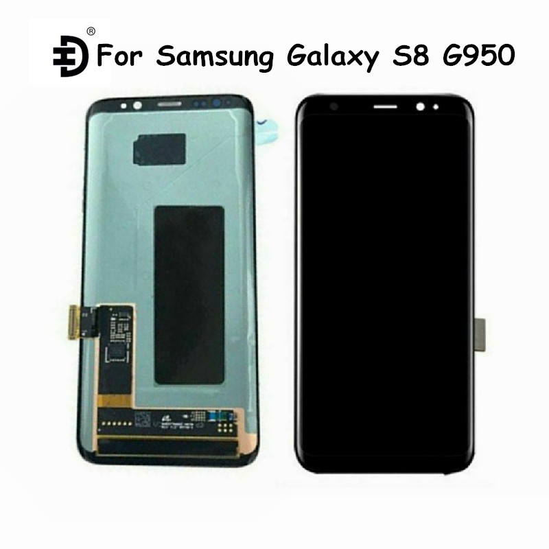 Original For Samsung Galaxy S8 G950 LCD Screen For Samsung S8 LCD <font><b>Display</b></font> Touch Panel Digitizer LCD <font><b>Display</b></font> For <font><b>SM</b></font>-G950F G950 image
