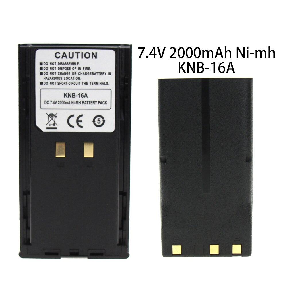 KNB-16 KNB-16A KNB-17A KNB-21 2000mAh 7.2V Ni-MH Replacement Battery For Kenwood TK-480 TK-380 TK-280 TK-290  Two-Way Radio