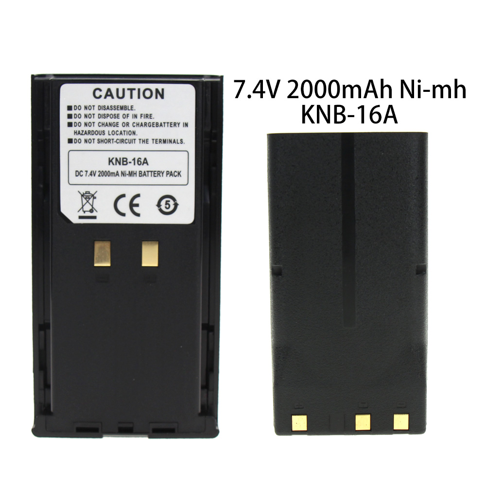 KNB-16 KNB-16A KNB-17A KNB-21 2100mAh 7.2V Ni-MH Replacement Battery For Kenwood TK-480 TK-380 TK-280 TK-290  Two-Way Radio