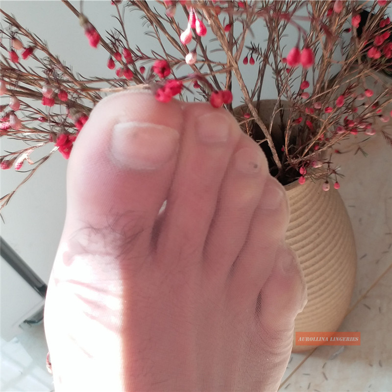 Man Sheer Toe Socks Nylon Affection Socks Thin Fetish Socks Cross Dressing Cross Dress Nylon Fetish Sexy Hardcore Elegant Sheer