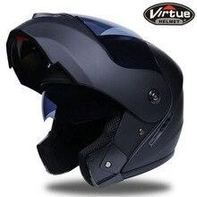2 Gifts Unisex Racing Motocross Helmets Modular Dual Lens Carbon Motorcycle Helmet Full Face Safe Helmet FlipUp Cascos Para Moto ls2 dual lens modular helmet sport bike motorcycle helmet of 578 cascos moto