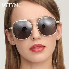 Dytymj Винтаж солнцезащитные очки с квадратными линзами Для