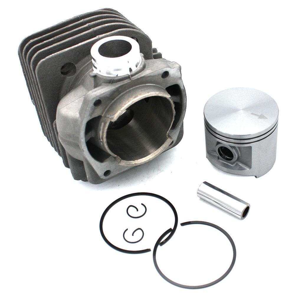 Tools : Cylinder Piston Kit 50mm for Jonsered 2063 2163 2071 2171 2171EPA CS2171 PN 503939372 503939371 503626473 503626472 503965271