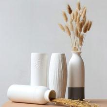 Minimalistyczne wazony ceramiczne Vintage estetyczne Glamour Art rustykalne wazony kompozycje kwiatowe Dekoracje Do Domu Home Decor DE50HP