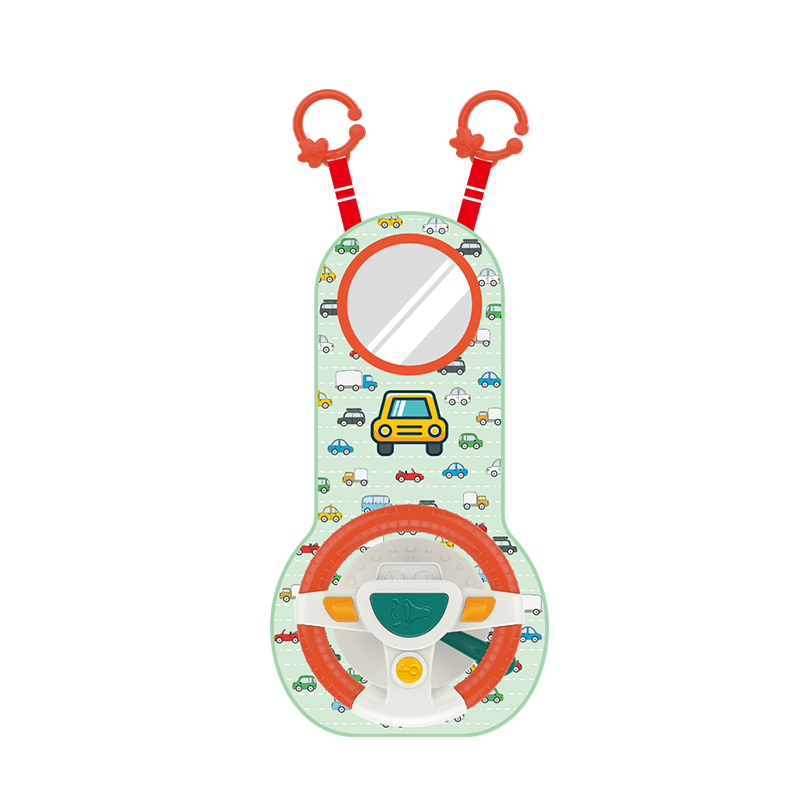 Baby Kids Eletric Simulation Steering Wheel Musical Developing Educational Toys Car Seat Early Education Sounding Infant Kid Toy 6