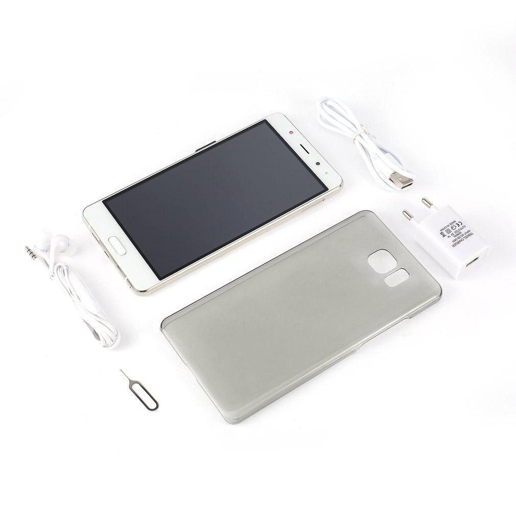 6 дюймов MTK6580 смартфон сотовый телефон для Android S8 поддержка Многоязычная двойная sim-карта двойной стандарт фронтальная камера 200 Вт