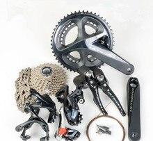 SHIMANO Kit de desviador de bicicleta de carretera ULTEGRA R8000, velocidad de 2x11 22S, 50/34T 53/39T 170 172,5 175mm