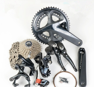 SHIMANO ULTEGRA R8000 groupset 2x11 22S Speed 50/34T 53/39T 170 172.5 175mm Road bike Bicycle Group set Derailleur Kit(China)