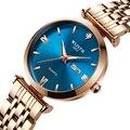 Wlith часы для женщин часы лучший бренд класса люкс кварцевые наручные часы розовое золото часы reloj mujer relogio feminino zegarek damski
