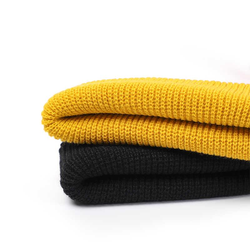 ฤดูหนาวถักหมวกบุรุษ Skullcap หมวกบุรุษหมวกฤดูหนาวสั้น Brimless Baggy Melon หมวก Docker Fisherman หมวกถักผู้หญิง