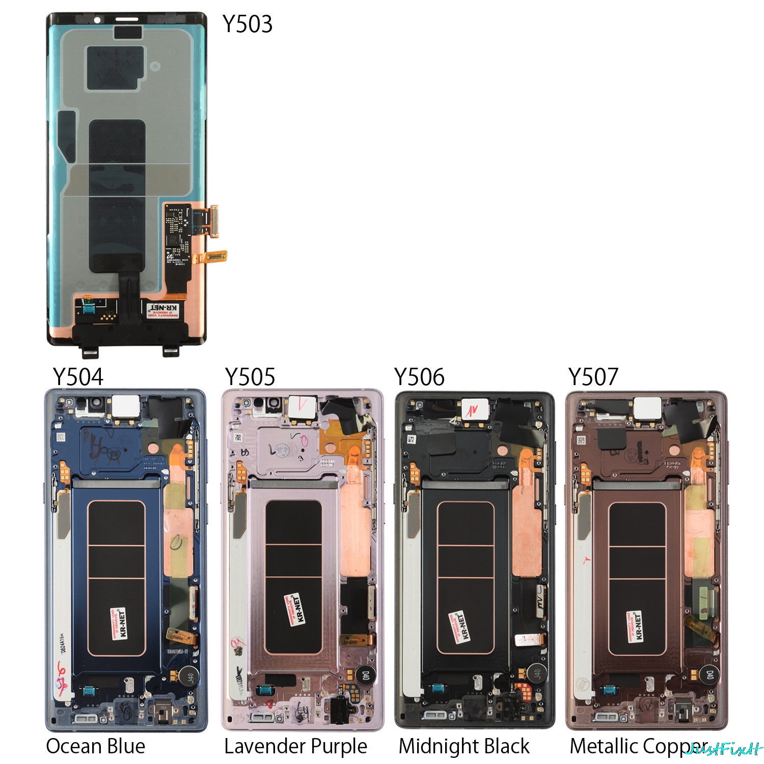Image 4 - For Samsung Galaxy Note 9 Lcd Display Touch Screen 100% Original Digitizer Assembly N960 N960F N960D N960DS lcd with Frame-in Mobile Phone LCD Screens from Cellphones & Telecommunications