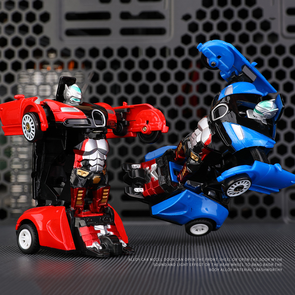 Education Toy Transformation Robots Sports Vehicle Model Robots Toys Plastic Toys Action Figure Toys For Boy Vehicle Model