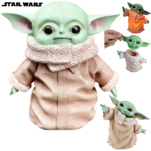 цены Disney Star War Baby Yoda Figure Toys PVC Building Blocks Bricks Master Yoda Figure Dolls Toy For Children Kids Gifts 2020 New