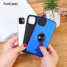 Magnetic Finger Ring Holder Cellular Phone Covers For Huawei P Smart Plus Soft TPU Protector Huawei telefoon Nova 3i Nove Caso(China)