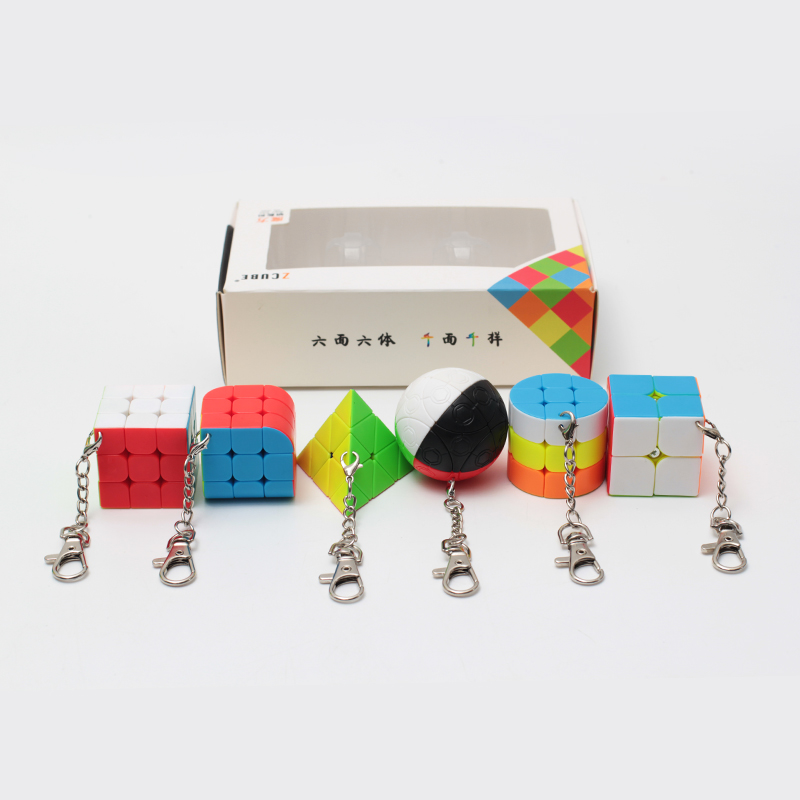 Zcube pacote 6 peças presente conjunto pacote