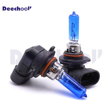 2 uds. De luces halógenas HIR2 9012 W, 100 K, faros delanteros de xenón blanco, diseño para coche, 9012LL, PX22d, bombillas