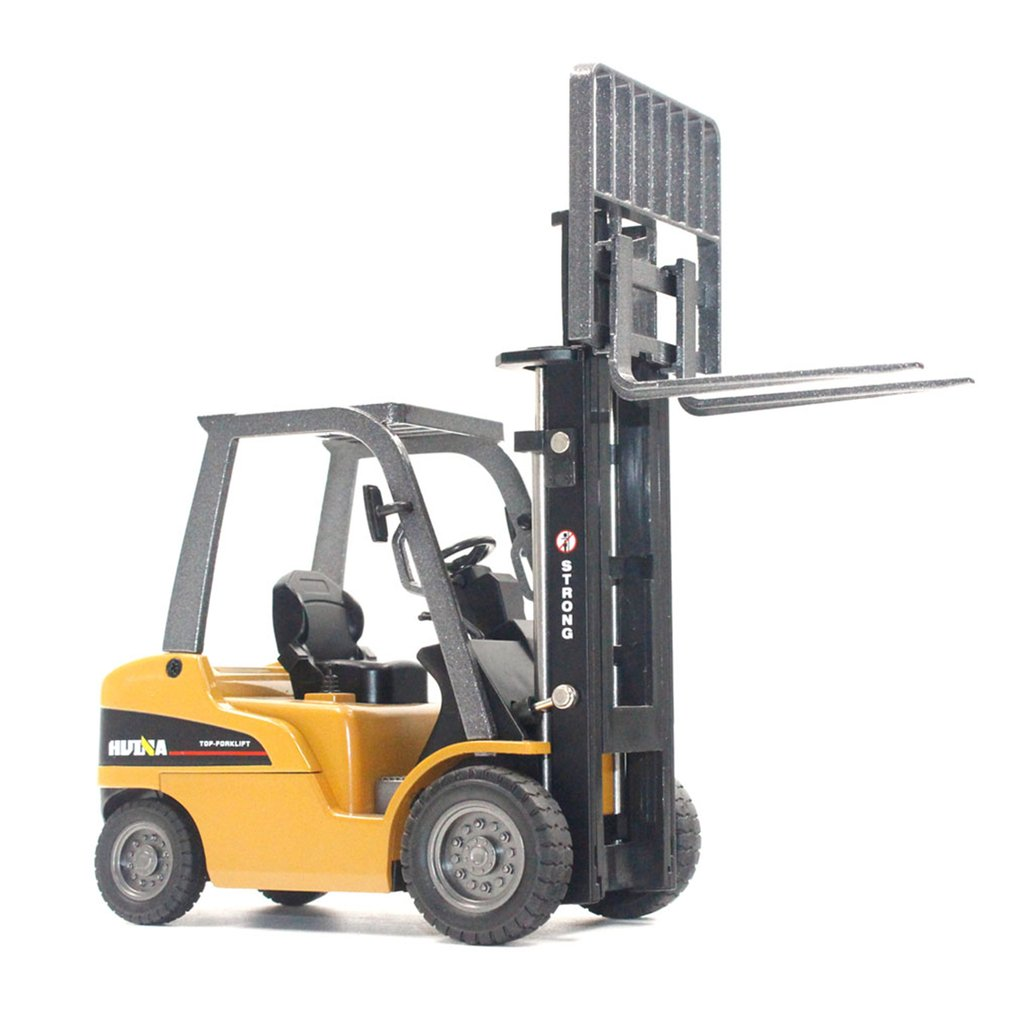HUINA 1717 1:50 Scale Alloy Forklift Truck Toy Model Engineering Car Gift