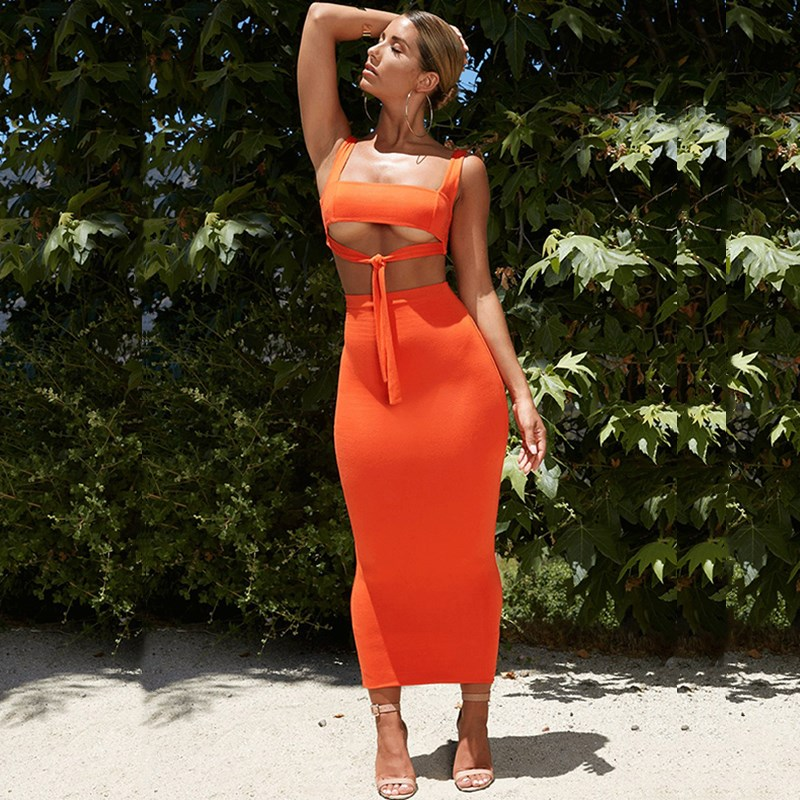 NewAsia Sexy Two Piece Set 2 Piece Set Women Two Piece Outfits Crop Top And Skirt Set Matching Sets Summer Clothes For Women 202