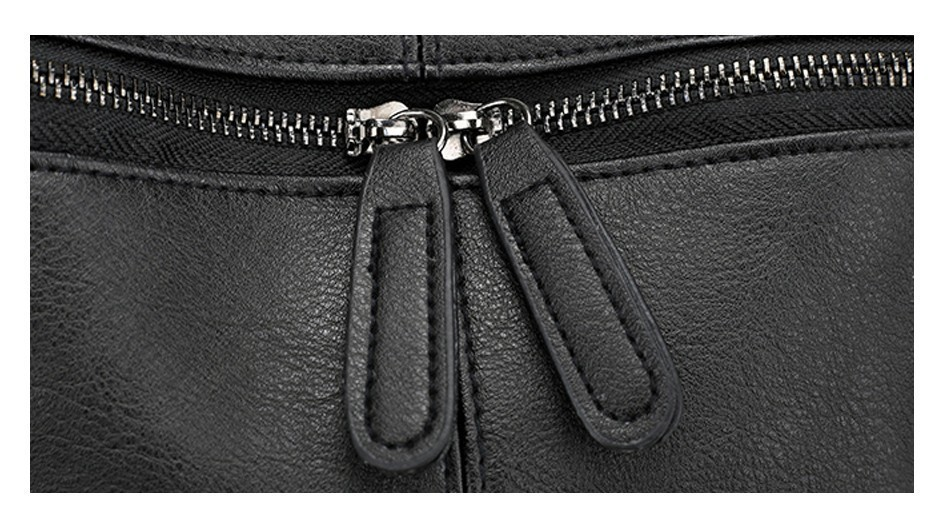 Heceaaf816b4243f5bfdc08a6459403bfv Herald Fashion Women's PU Leather Backpack School Bags For Teenage Girls Large Capacity Backpack Laptop Bag Drop Shipping
