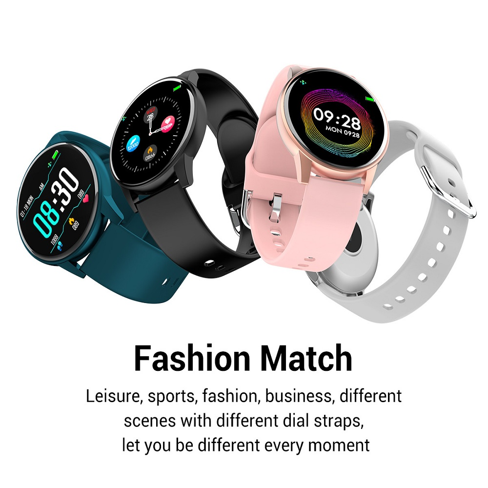 <font><b>Q5</b></font> Heart Rate Blood Pressure Oxygen Smart <font><b>Watch</b></font> Men and Women IP67 Waterproof Sports Path Weather Forecast SmartWatch image