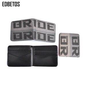 Image 4 - EDBETOS BRIDE wallet Auto Wallet BRIDE Purse JDM VERSION 2 Racing Seat Fabric and Leather Canvas takatas Wallet key case