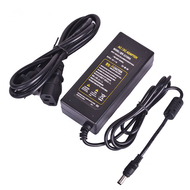 Goodland 12V Power Supply DC 12V Unit Transformer AC 110V 220V to DC12 Volts <font><b>12</b></font> <font><b>V</b></font> LED Driver for LED Strip 1A 2A 3A 5A 6A 10A image