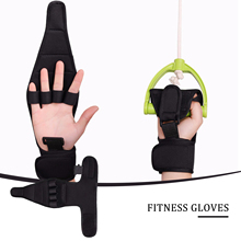 Anti-Spasticity Finger Gloves Weight Lifting Pull-ups Gloves Splint Finger Recovery Grip Impairment Fitness Equipment Grip