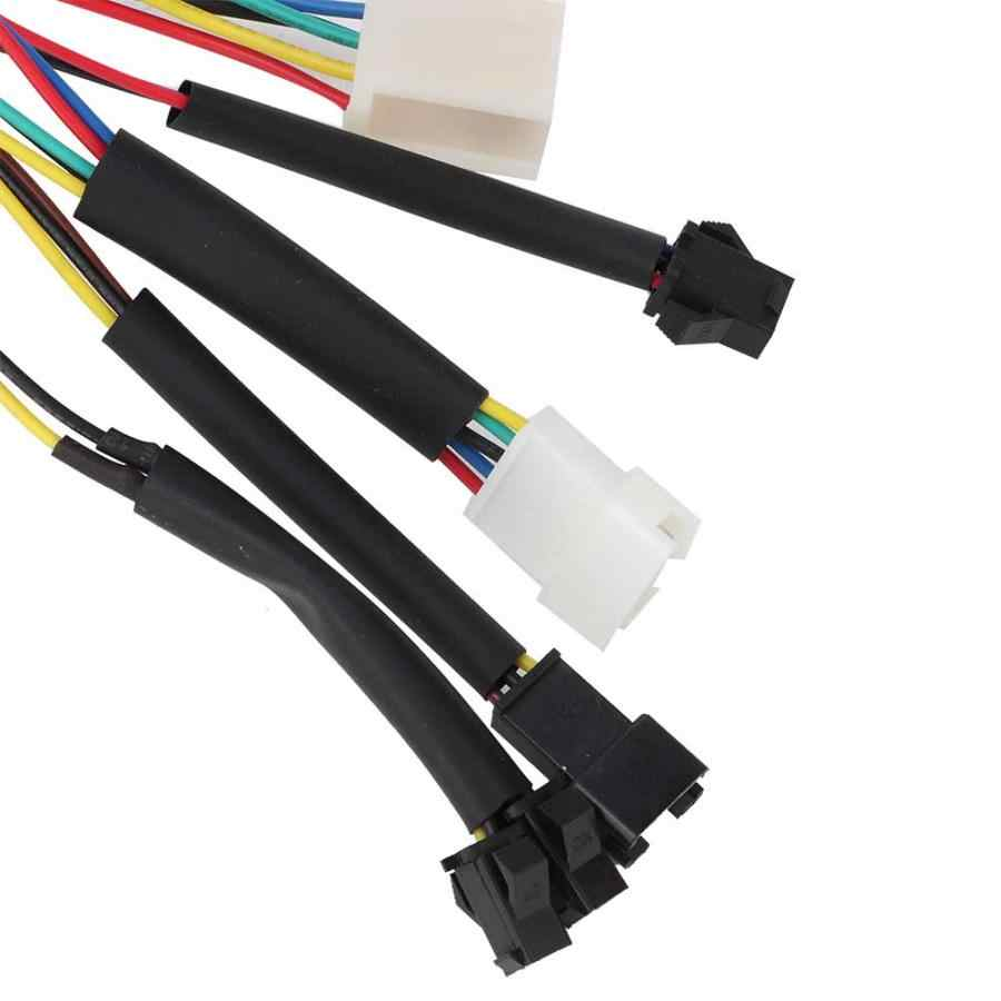 Controlador sem escova do controlador 36 v/48 v 1000 w/1500 w da bicicleta elétrica para as peças elétricas do motor e-bike do trotinette da bicicleta