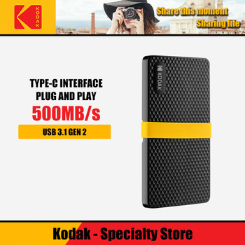 Kodak X200 Digital Portable hard drive 256gb 512gb 1TB Type C External hdd  3.1 Hard Drive Disk Original for PC laptop