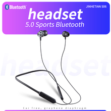 Magnetic wireless 5.0 Bluetooth headset S06 music headset mobile phone neckband sports earplugs with microphone waterproof wireless sports music headphones magnetic wireless bluetooth headset phone neckband sports earbud headset with microphone