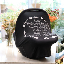 Multifunctional Breastfeeding Stroller Towel Safety Seat Cover Towel Cover Towel Shopping Cart Seat Cover Star Series цена 2017