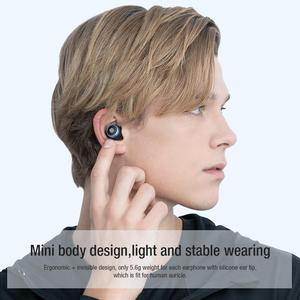 Image 5 - NILLKIN 무선 미니 이어 버드 블루투스 5.0 무선 이어폰 마이크 미니 CVC 소음 감소 IPX5 방수 스포츠 헤드셋