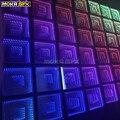25 шт./лот 3D зеркало танцпол с SD контроллер и источник питания ночной клуб led бесконечность танцпол 50x50 на панель