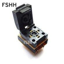 SA686  Programmer adapter WSON32 to DIP32 socket DFN32 QFN32 MLF32 Pitch=0.5mm Size=5mmX5mm