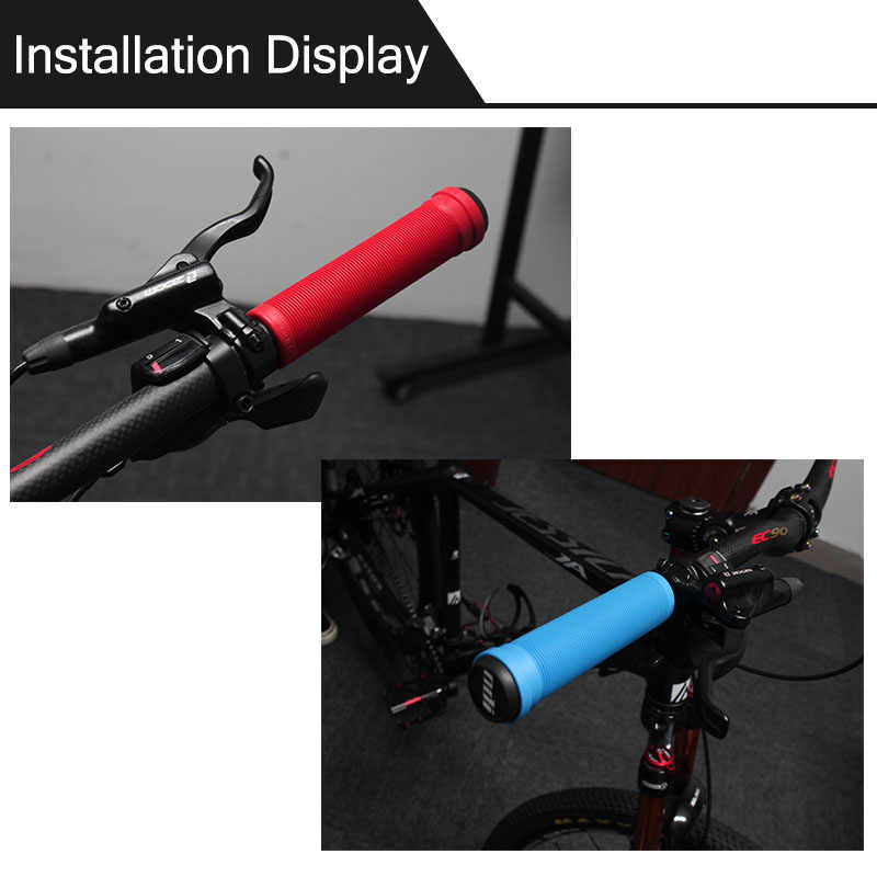 Silicone Handlebar Grip Bicycle Handle Bar Cover Multi-Color Accessories