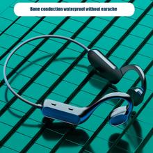 Беспроводные Bluetooth-наушники G200 с костной проводимостью, стереонаушники-вкладыши, открытые водонепроницаемые спортивные наушники с защитой...