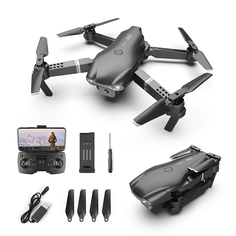 XKJ S602 RC Drone 4K HD Dual Camera Professional Aerial Photography WIFI FPV Foldable Quadcopter Height Hold DronToy 4
