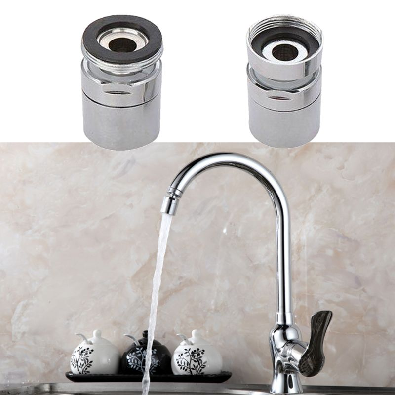 1# 22mm Female Brass Water Saving Tap Faucet Aerator Sprayer Attachment With 360-Degree Swivel