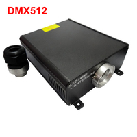 45W DMX fiber optic led light engine dmx 512 signal