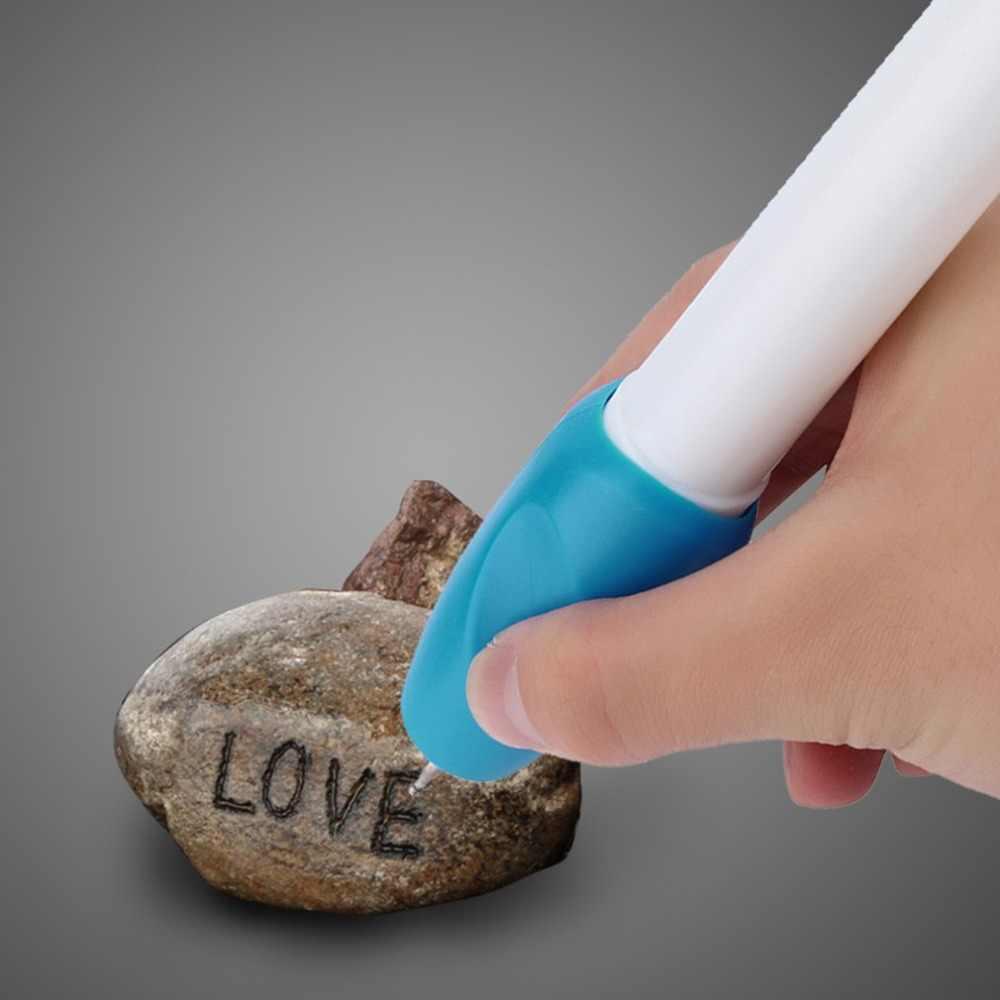 เครื่องประดับไฟฟ้าแก้วพลาสติกโลหะไม้แกะสลักปากกาแกะสลักเครื่องมือแกะสลักปากกาแกะสลัก 17.5*2.9*2.9 ซม.การศึกษาอุปกรณ์เสริม