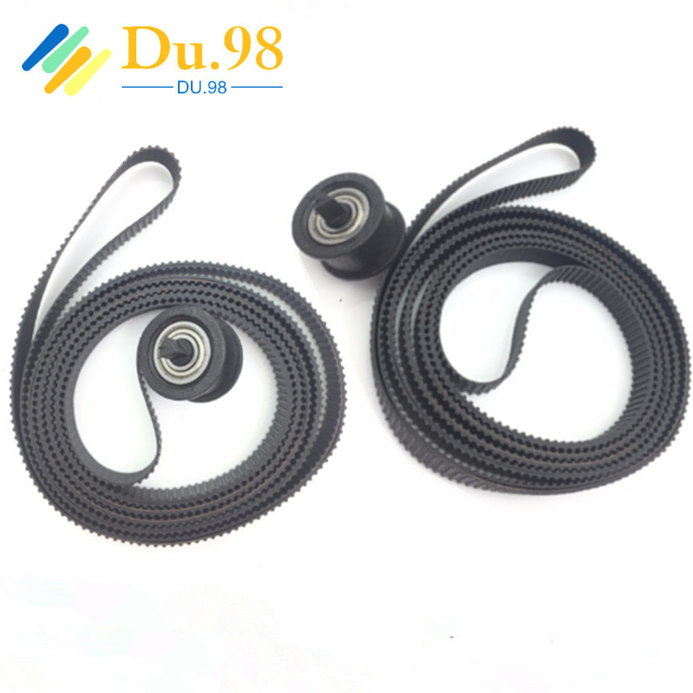 2PCS X Compatible New B0 42inch Carriage Belt C7770 60014 For HP DesignJet 500 510 800