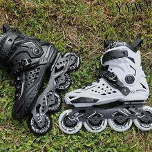Sneaker Skating-Shoes Roller-Skates Inline Street Free-Style Pu-Wheels Outdoor Adult