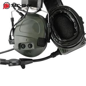 Image 3 - TAC SKY TCI LIBERATOR 1, orejeras de silicona, defensa auditiva militar, reducción de ruido, pastillas para deportes al aire libre, auriculares tácticos FG