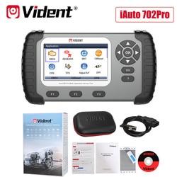 VIDENT iAuto702 Pro 702Pro OBD2 Diagnostic Tool ABS/SRS/SAS/TPMS/EPB/Oil Light Reset/DPF/TPS Code Reader Powerful Than ilink450
