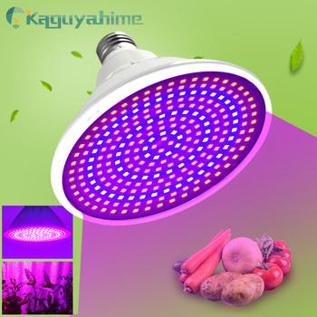 =(K)= oświetlenie LED do uprawy E27 Lampada lampa ledowa do hodowli roślin pełne spektrum 4W 30W 50W 80W lampa do roślin domowych IR UV hydroponika kwitnąca tanie i dobre opinie Kaguyahime CN (pochodzenie) ROHS 2700 k 2835 Garden 220V 250-499 Lumenów Globe 50000 Other Żarówki led Spotlight żarówki
