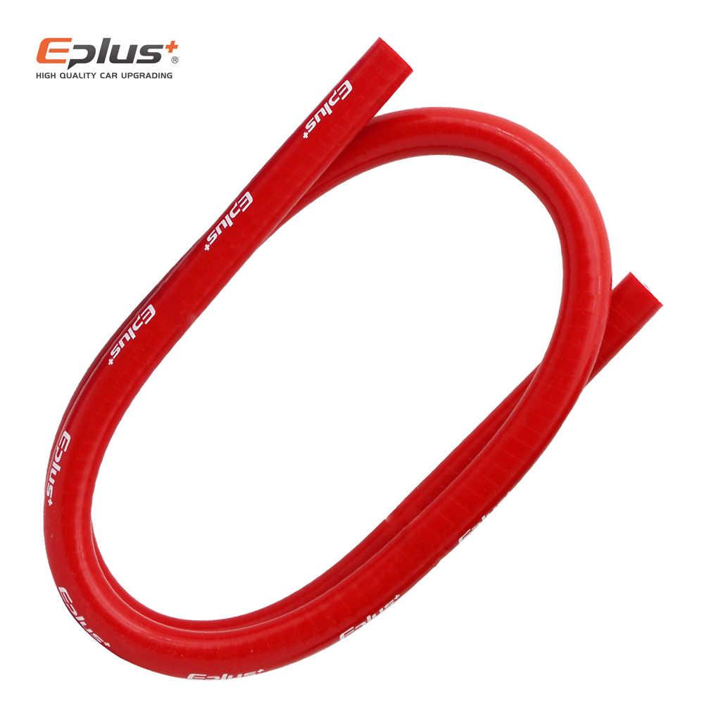 EPLUS الأحمر متعددة الأحجام لينة سيليكون أنابيب خرطوم المبرد المبرد سيليكون خط أنابيب العالمي مضفر أنبوب 3 طبقة 1 متر
